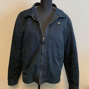 Quiksilver Sherpa lined jacket size large